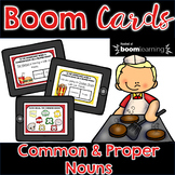 Common and Proper Noun BOOM Cards   Distance Learning