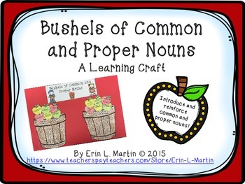 Common and Proper Noun Learning Craft