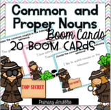 Common and Proper Nouns Boom Task Cards