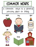 Common and Proper Nouns Bundle