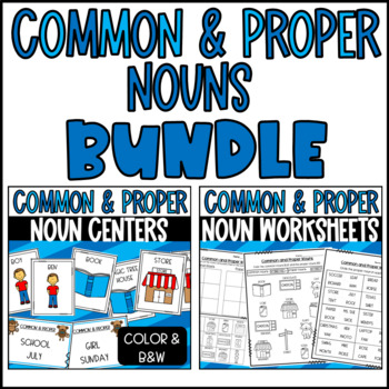 Proper Noun Sentences Worksheets | Teachers Pay Teachers