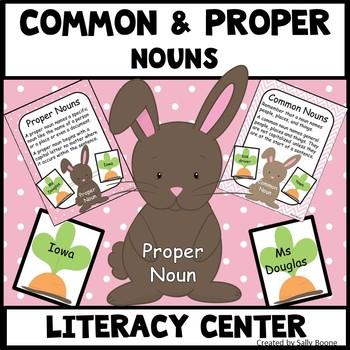 Common and Proper Nouns - Bunny Theme