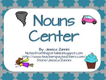 Got Grammar: Common and Proper Nouns Literacy Center