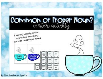 Common and Proper Nouns Center