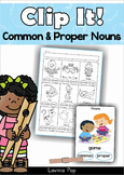 Common and Proper Nouns Clip It!