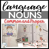 Common and Proper Nouns Worksheets, Activities, and Interactive Notebook