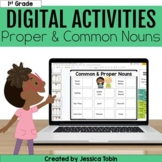 Common and Proper Nouns Digital Language Activities- L.1.1