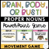 Common and Proper Nouns Game Interactive PowerPoint