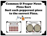 Common and Proper Nouns Pizza Sort