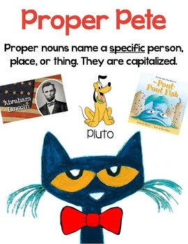 Common and Proper Nouns Posters