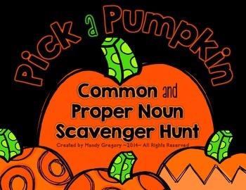 Common and Proper Nouns (Scavenger Hunt)