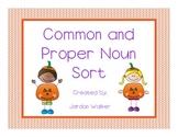 Common and Proper Nouns Sort