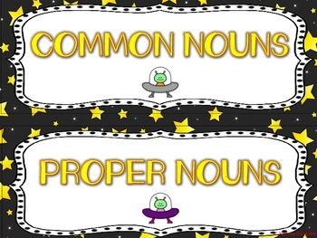 Common and Proper Nouns are Outta This World