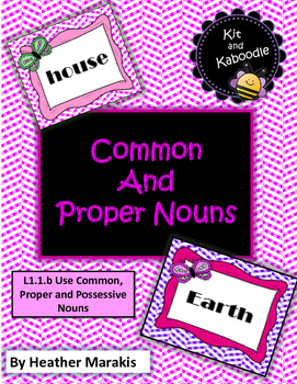 Common and Proper Nous