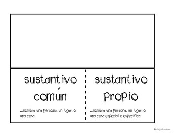 Common and proper noun activity in SPANISH