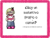 Common and proper noun activity in SPANISH