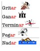 Spanish (español) Common -ar Verbs and verb conjugation (with pictures)
