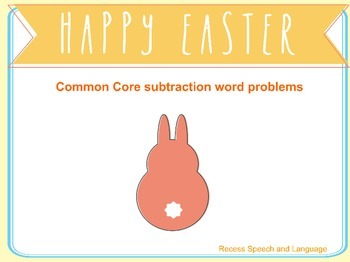 Common core Easter math