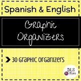 English & Spanish Reading Graphic Organizers