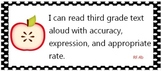 "Common core standards third 3rd grade - apples - ""I can..."""