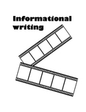 Common core writing: Informational Unit