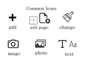 Commonly Used iPad Icons and Applications in the Classroom