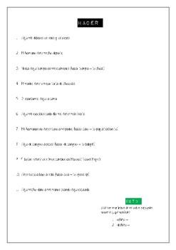 Common irregular Spanish verbs in the preterite BOOKLET