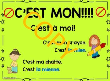 Common mistake  Poster - French Immersion - Expressions fautives