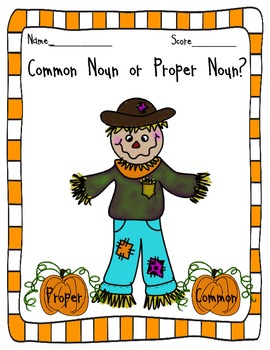 Common or Proper Noun?