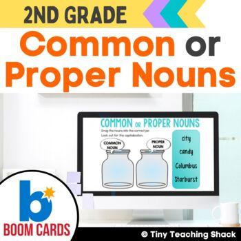 Common or Proper Noun Boom Cards