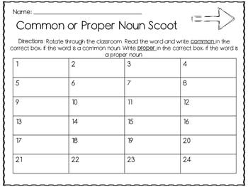 Common or Proper Noun Scoot