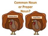 Common or Proper Noun Turkeys