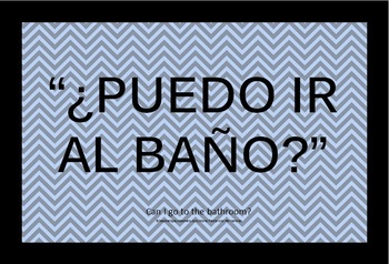 Common phrases for the spanish classroom