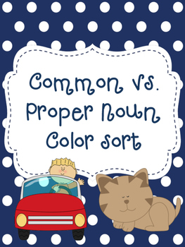 Common vs. Proper Noun Sort