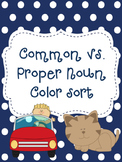 Common vs. Proper Noun Sort