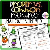 Common vs. Proper Nouns > October & Halloween Themed Freebie!