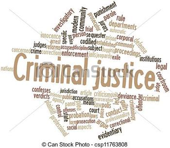 Common words used in Criminal Justice