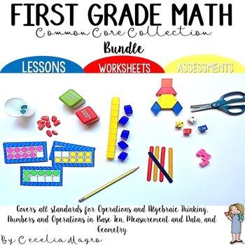 Common Core Collection Math for 1st Grade BUNDLE