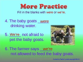 Commonly Confused Homophones with Baby Animals Ppt!