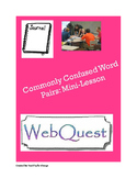 Commonly Confused Word Pairs Mini-Unit (Webquest, Journal,
