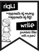 Commonly Confused Words Anchor Charts ~Black & White Posters~ Cute Kids Theme