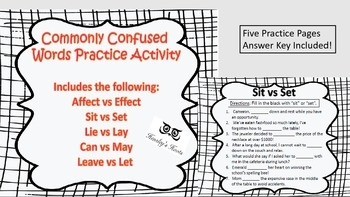 Commonly Confused Words BUNDLE!