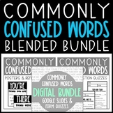 Commonly Confused Words Blended Bundle - Google