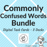 Commonly Confused Words Boom Deck Bundle - Distance Learning