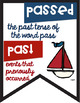 Commonly Confused Words Colored Anchor Charts in a Nautical Theme