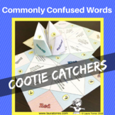 Commonly Confused Words Cootie Catchers