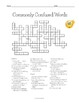 Commonly Confused Words Crossword Puzzle Vocabulary Activity