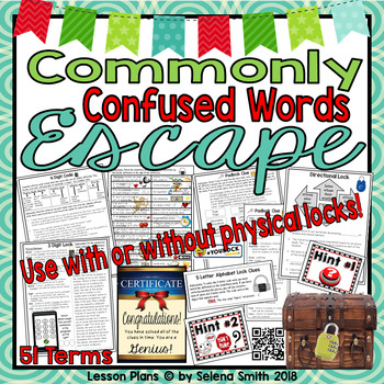 Commonly Confused Words Escape