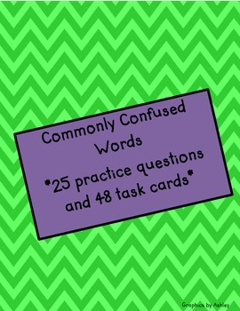 STAAR & Common Core: Commonly Confused Words & Homophones