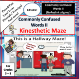 Commonly Confused Words II Kinesthetic Maze | NoRedInk Aligned